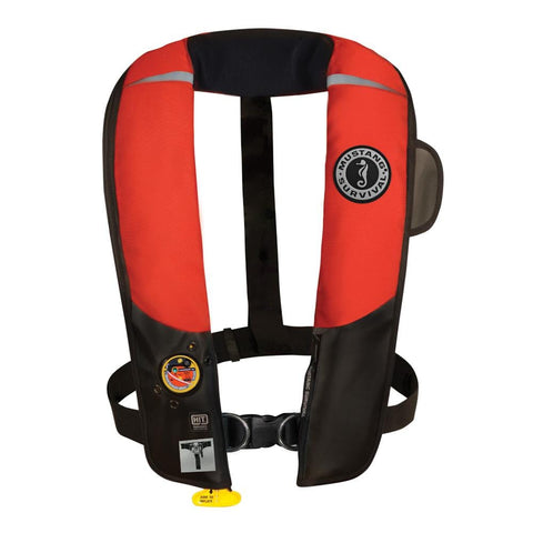 Mustang HIT Inflatable Automatic PFD w/Harness - Red/Black [MD3184/02-RD/BK] - Youth Outdoor Adventure