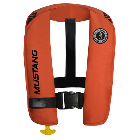 Mustang MIT 100 Inflatable Automatic PFD w/Reflective Tape - Orange [MD2016/T1] - Youth Outdoor Adventure