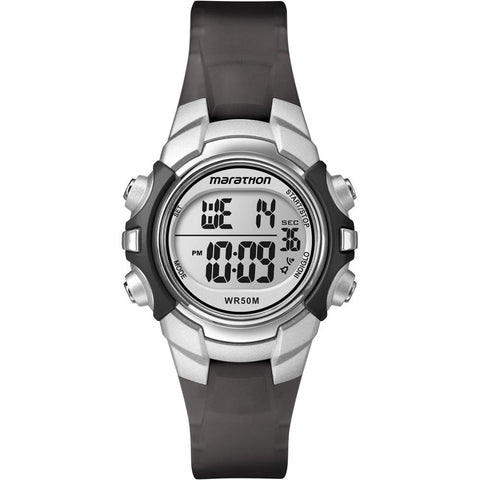 Timex Marathon Digital Mid-Size Watch - Black/Silver [T5K805] - Youth Outdoor Adventure