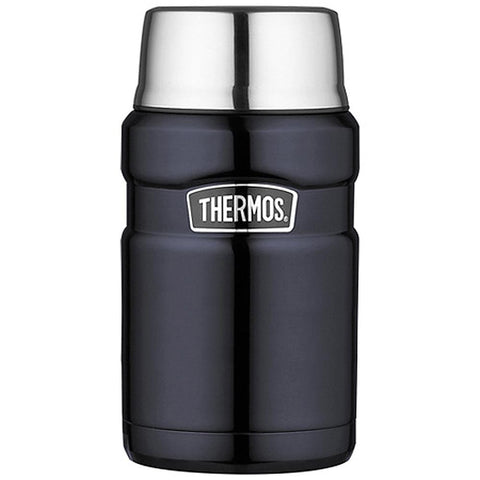 Thermos Stainless Steel King Food Jar - Blue - 24 oz. [SK3020MBTRI4] - Youth Outdoor Adventure