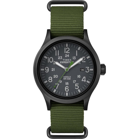 Timex Expedition Scout Slip-Thru Watch - Green [TW4B047009J] - Youth Outdoor Adventure
