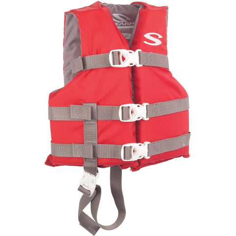 Stearns Classic Series Child Life Vest - 30-50lbs - Red [3000004470] - Youth Outdoor Adventure