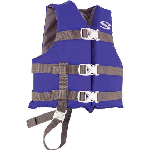 Stearns Classic Child Life Jacket - 30-50lbs - Blue/Grey [3000004471] - Youth Outdoor Adventure