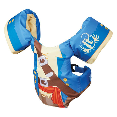 Full Throttle Little Dippers Life Jacket - Pirate [104400-500-001-18] - Youth Outdoor Adventure