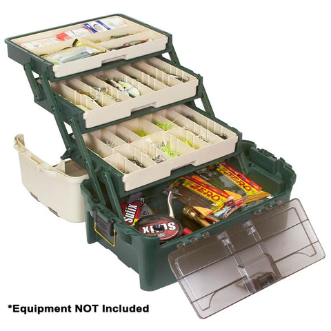 Plano Hybrid Hip 3-Tray Tackle Box - Forest Green [723300] - Youth Outdoor Adventure
