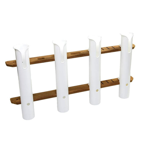 Whitecap Teak 4-Rod Tournament Storage Pack [63450] - Youth Outdoor Adventure