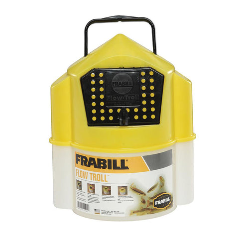 Frabill Flow Troll Bucket - 6 Quart [4501] - Youth Outdoor Adventure