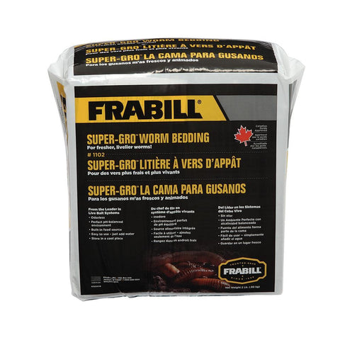 Frabill Super-Gro Worm Bedding - 2lbs [1102] - Youth Outdoor Adventure