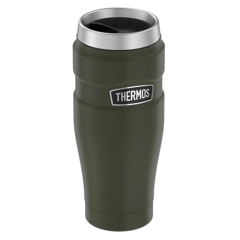 Thermos Stainless King Vacuum Insulated Stainless Steel Travel Tumbler - 16oz - Matte Army Green [SK1005AG4] - Youth Outdoor Adventure