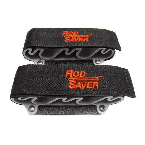 Rod Saver Portable Side Mount w/Dual Lock 4 Rod Holder [SMP4]