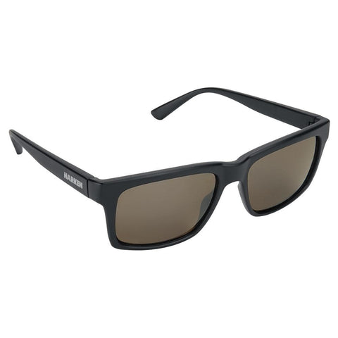 Harken Rake Sunglasses - Matte Black Frame/Grey Lens [2099] - Youth Outdoor Adventure