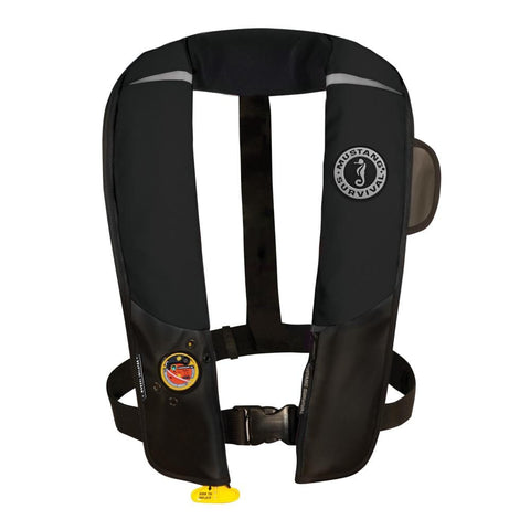 Mustang Pilot 38 Inflatable PFD Manual HIT - Black [MD3181-13] - Youth Outdoor Adventure