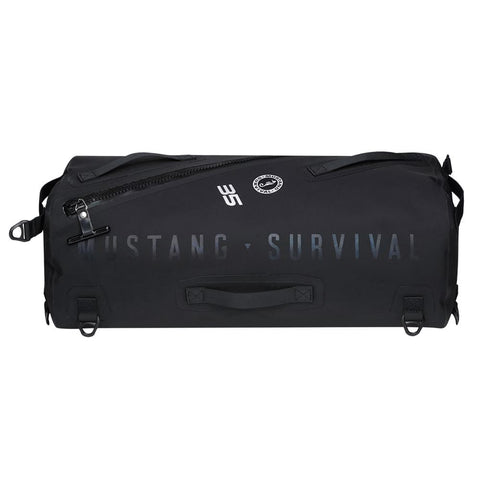 Mustang Greenwater 35 Liter Waterproof Deck Bag - Black [MA2611/02-13] - Youth Outdoor Adventure