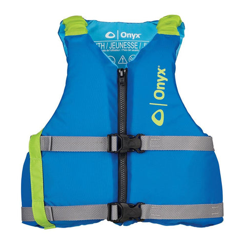 Onyx Youth Universal Paddle Vest - Blue [121900-500-002-21]