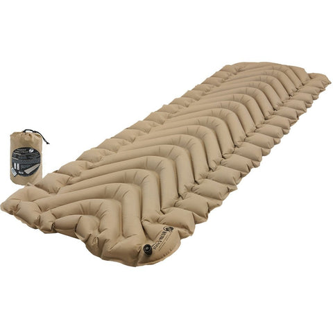 Klymit Insulated Static V Recon Sleeping Pad Coyote-sand