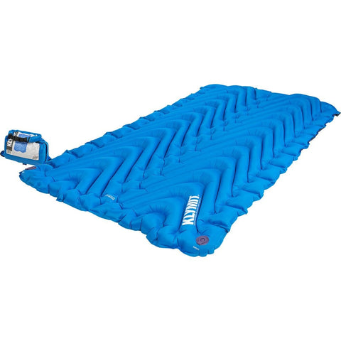 Klymit Double V Sleeping Pad Blue
