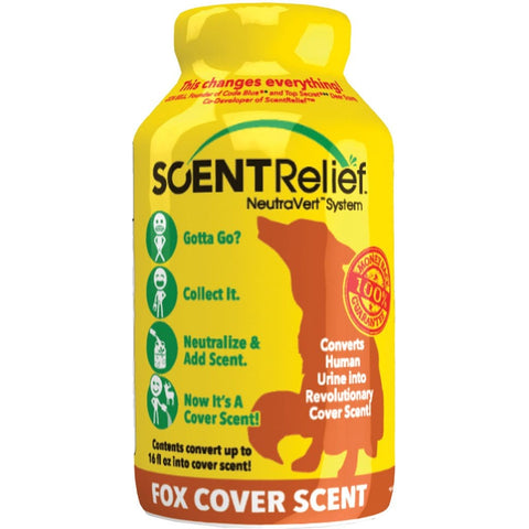 Scent Relief Cover Scent Fox