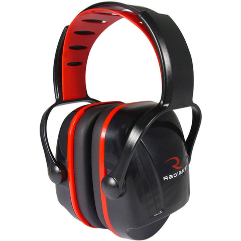 Radians X-caliber Youth Earmuff Black And Red