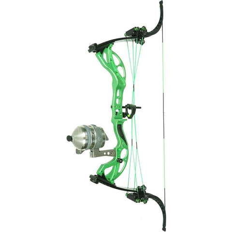 Muzzy Lv-x Bowfishing Bow Green 25-29 In. 25-50 Lb. Lh