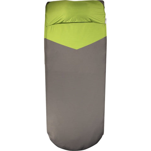 Klymit Luxe V Sheet Pad Cover Green-gray