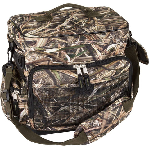 Flambeau Hard Bottom Blind Bag Mossy Oak Shadow Grass Blades