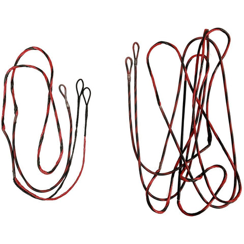 Firststring Genesis String And Cable Set Mountain Berry- Black