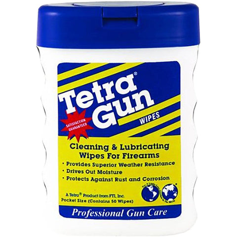Tetra Gun Lubricating Wipes