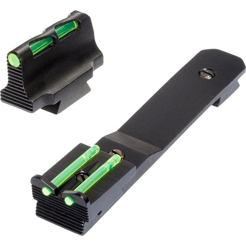 Hiviz Litewave Front And Rear Rifle Sight Combo Henry .22 Lr Green Red White Litepipes