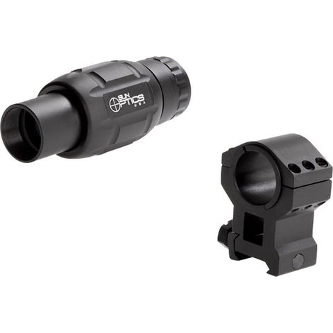 Sun Optics Handgun Scope Sight Magnifer 3x  30mm Ring