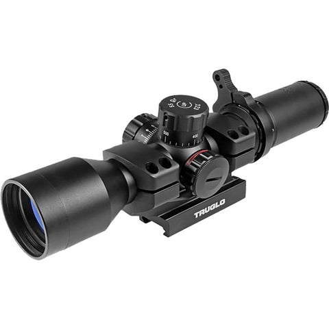 Truglo Tactical Rifle Scope 30mm 3-9x42 Ir Mil