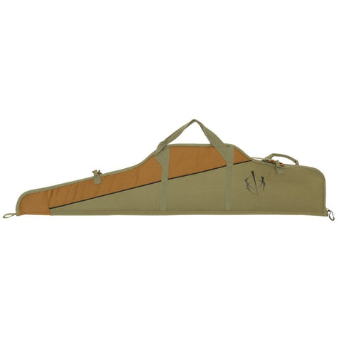 Blackheart Vital Soft Scoped Rifle Case W- Inhib-x Olive-brown 48 In.