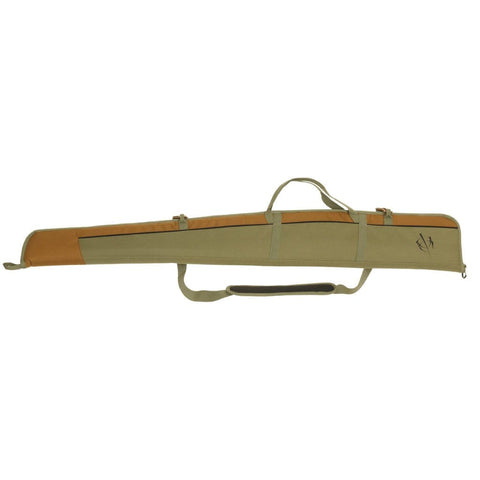 Blackheart Vital Shotgun Case W- Inhib-x Olive-brown 54 In.