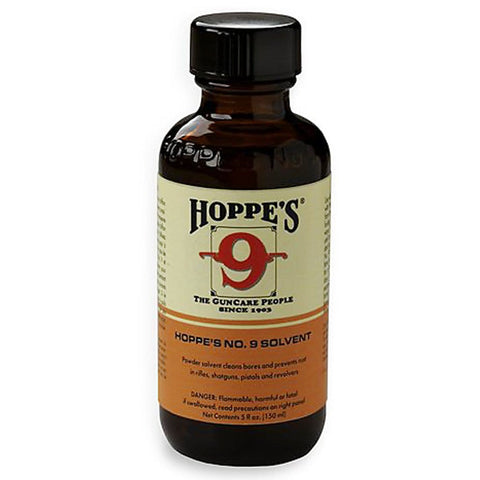 Hoppes No. 9 Gun Bore Cleaner 5 Oz. Bottle Clamshell