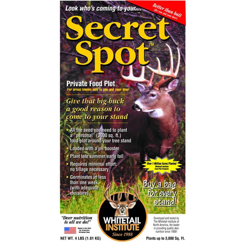 Whitetail Institute Imperial Seed Secret Spot 4 Lb.