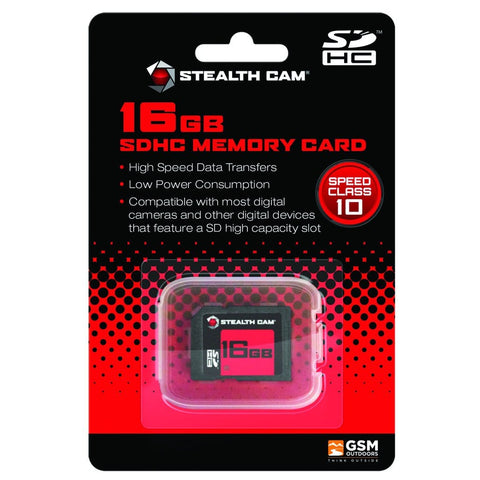 Stealth Cam Sd Card 16 Gb