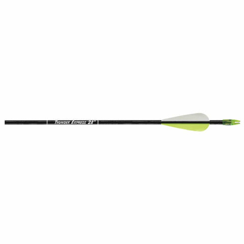 Carbon Express Thunder Express Arrows Black 28 In. 72 Pk.