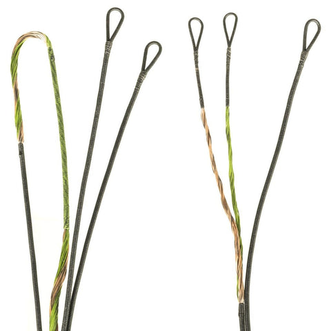 Firststring Premium String Kit Green-brown Mathews Helim