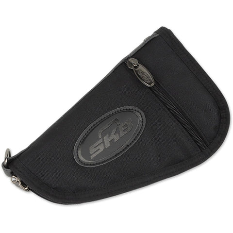 Skb Handgun Bag Black Medium 4pk