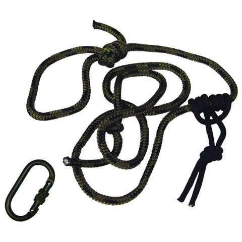 Summit Linesmans Rope W-carabiner 8 Ft.