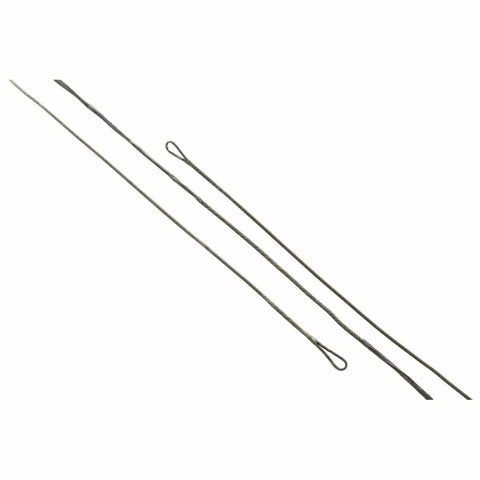 J And D Teardrop Bowstring Black B50 39 In. 16 Strand