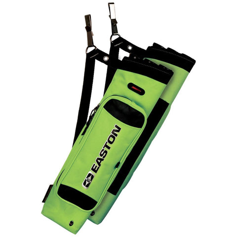 Easton Flipside 3-tube Hip Quiver Neon Green Rh-lh
