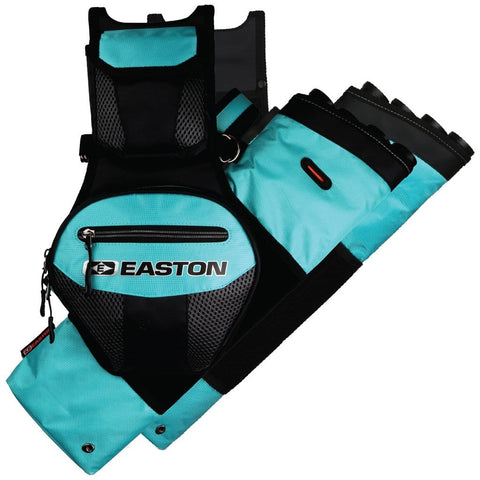 Easton Flipside 4-tube Hip Quiver Teal Rh-lh
