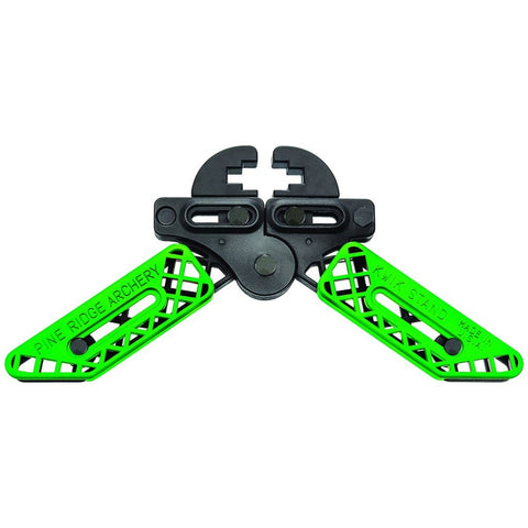 Pine Ridge Kwik Stand Bow Support Lime Green-black