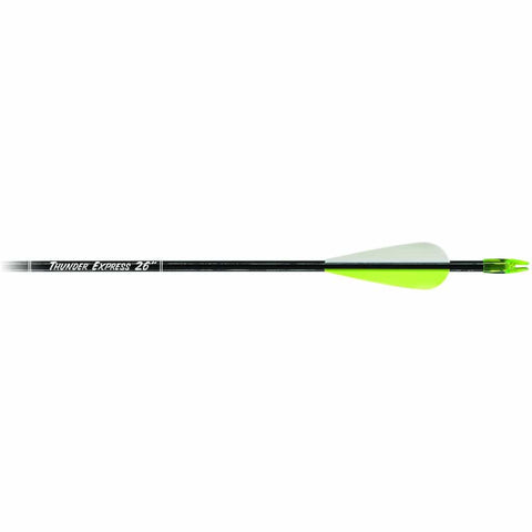 Carbon Express Thunder Express Arrows Black 26 In. 18 Pk.