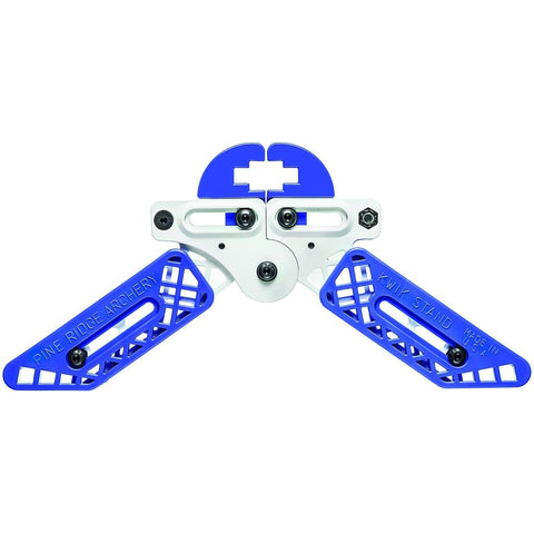 Pine Ridge Kwik Stand Bow Support White-blue