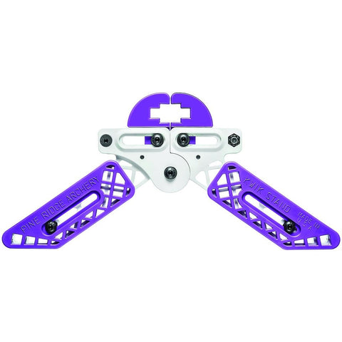 Pine Ridge Kwik Stand Bow Support White-purple