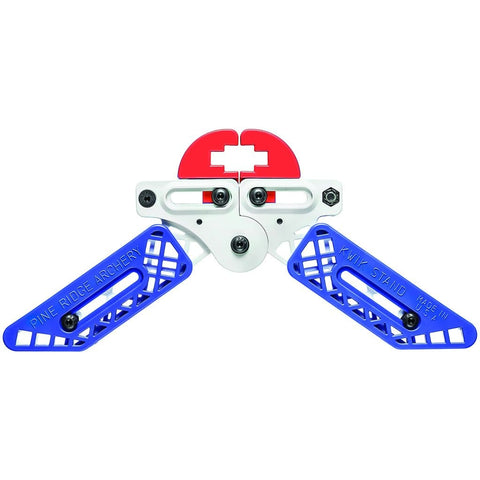 Pine Ridge Kwik Stand Bow Support White-red-blue