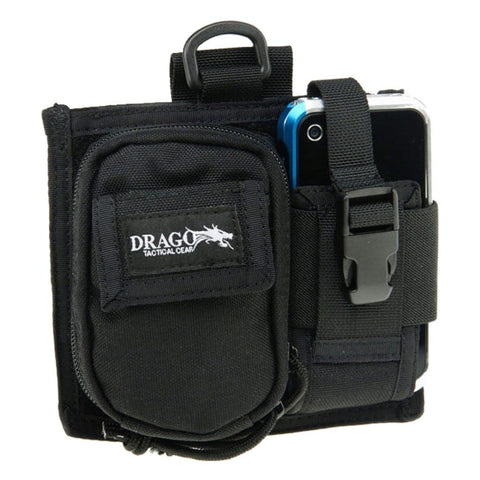 Drago Gear Recon Sidepack Phone-camera Case Black