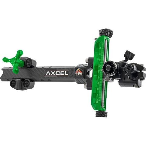 Axcel Achieve Xp Compound Sight Green- Black 6 In. Rh