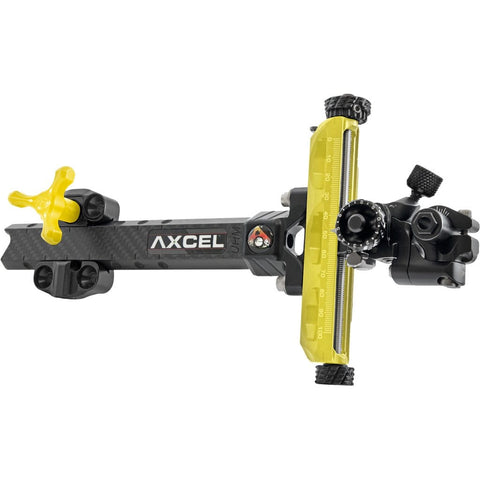 Axcel Achieve Xp Compound Sight Gold- Black 9 In. Rh